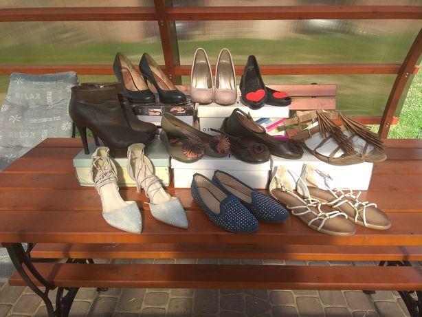 Buty różne damskie 38