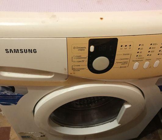 Стиральная машина Samsung узкая стиралка