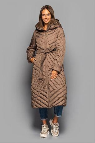СТИЛЬНЕ ПОДОВЖЕНЕ ПАЛЬТО KTL 412 Женское пальто размер 44-54