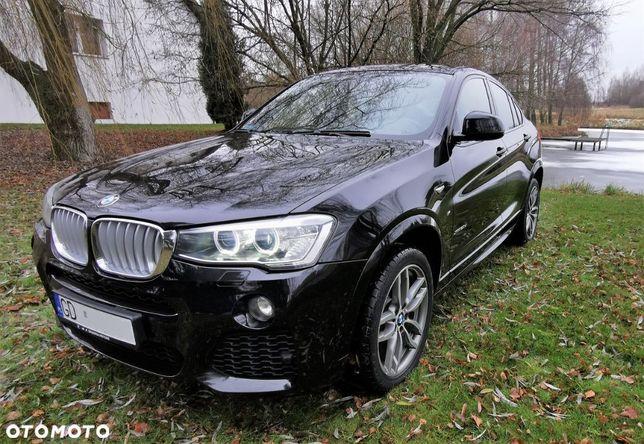 BMW X4 BMW X4 2.0 Xdrive 2016 Polski Salon Mpakiet Skóry Duża Nawi Serwis ASO