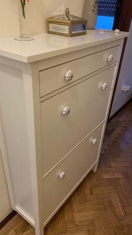 Sapateira Ikea branca