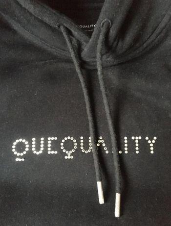 QueQuality x Swarovski bluza z kapturem 1 MLN Legendary Hoodie unikat!