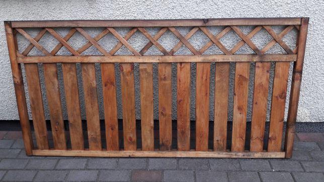 Zaimpregnowane Ogrodzenie drewniane Stisa 180 x 90