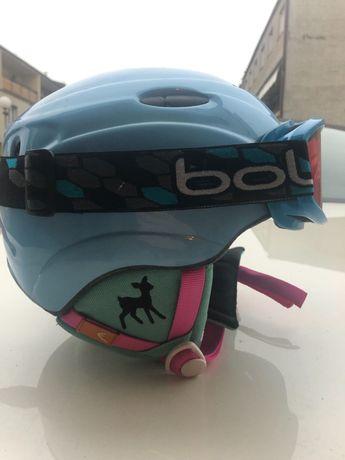 Kask narciarski Head z goglami Bolle