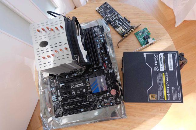 Procesor intel i5 4670k  Gigabyte GA-Z87X  RAM 16gb1333 C9 Komputer