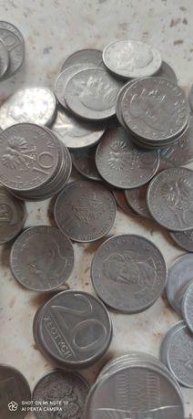 Sprzedam stare monety z czasów PRL