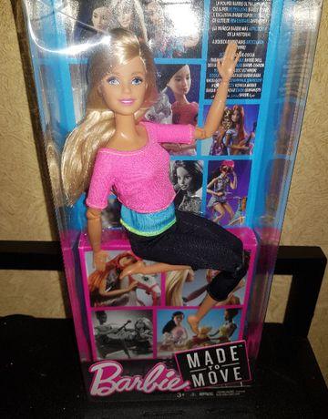 Шарнирная кукла Барби Йога блондинка Barbie Made to Move. Оригинал