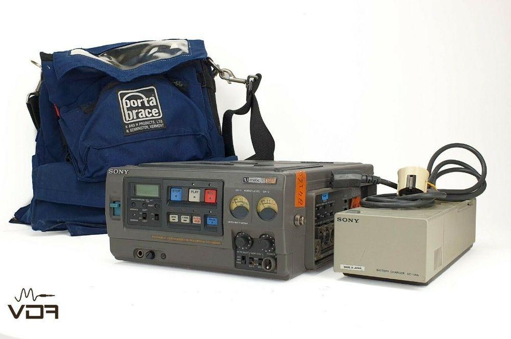 Sony VO-8800P U-matic SP Portátil Fita Gravador Com PortaBrace E Carre