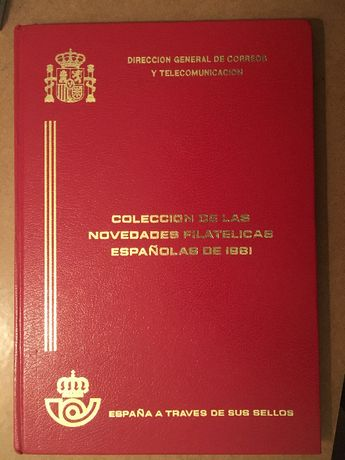 Filatelia - Espanha - España a traves de sus sellos 1981
