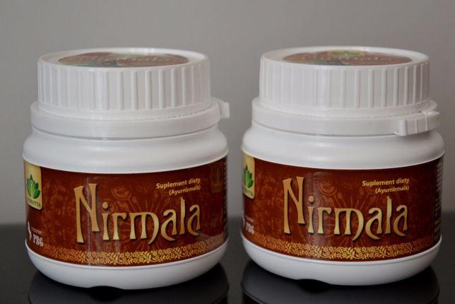 Nirmala - Ajurwedyjskie zioła na oczyszczanie jelita grubego