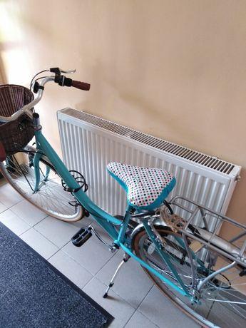 Rower miejski damka firmy reflex koła 28.