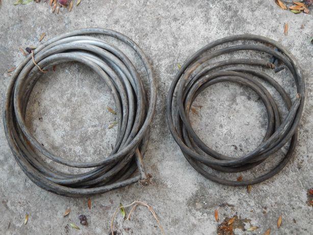 Шланг прочный армированный садовый бухта 10 м толщина 2 см кабель медь