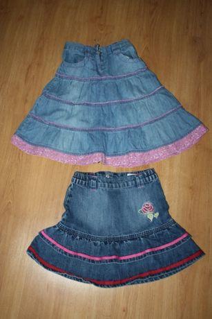 Spódniczki jeansowe 122/ 128