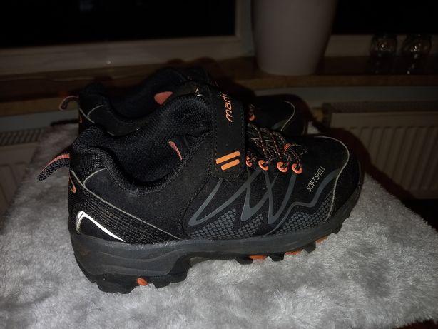 Krótkie buty trekkingowe dziecięce 30