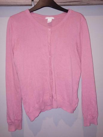 Sweterek różowy H&M S/M