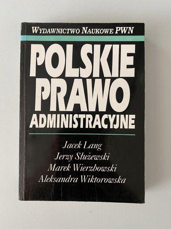 Polskie prawo administracyjne - Lang, Służewski, Wierzbowski