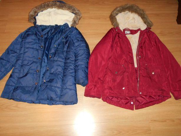 4 casacos 10-14 anos