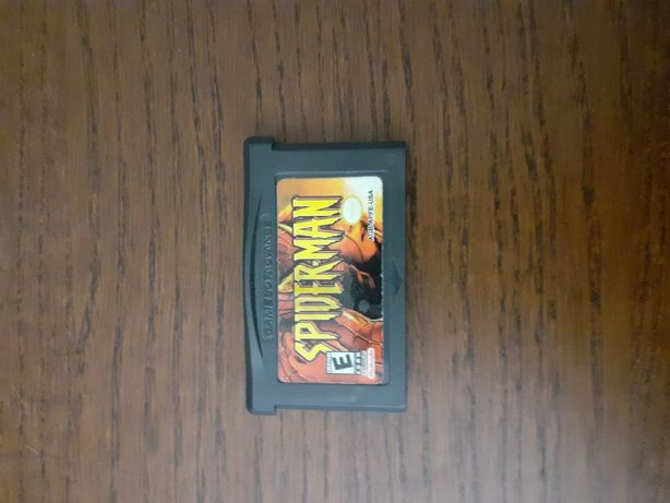 "Jogo ""Spiderman"" Game Boy Advance"