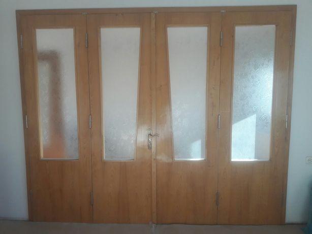 Drzwi wewnętrzne między pokojowe 100% drewniane okazja