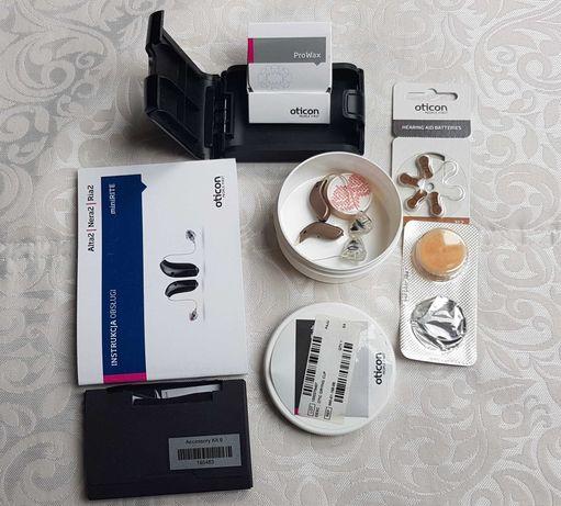 aparat słuchowy OTICON, miniRITE, RIA2