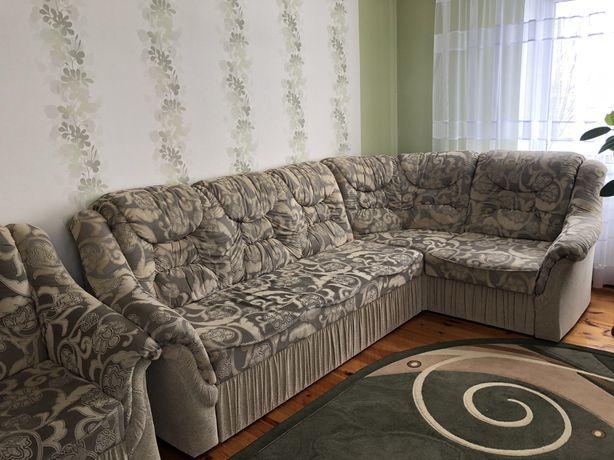 кутовий диван з кріслом