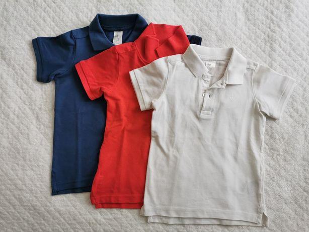 Komplet koszulek polówek HM 86