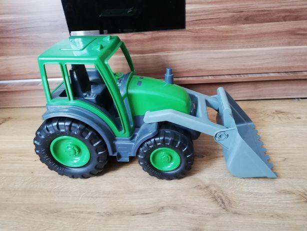 Koparka traktor zabawka duża