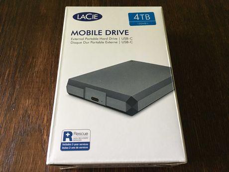 Жесткий диск Laсie Mobile Drive 4TB 2.5 USB-C 3.1 STHG4000402 12000 р