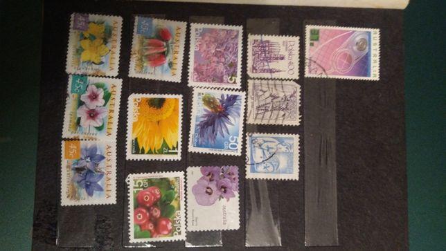 znaczki pocztowe zestawy