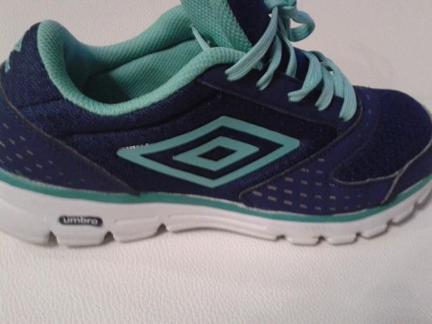 adidasy umbro modny kolor turkusowo niebieski