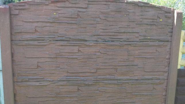 Betonowe ogrodzenia podmurówki