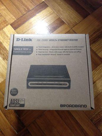 Новий Маршрутизатор D-Link DSL-2500U