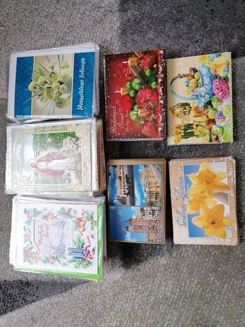 Kartki pocztowe różne wzory