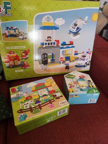 3 caixas Legos caixas fechadas