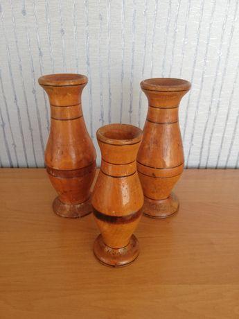 Ваза из дерева ссср ваза деревянная ручная работа старинная