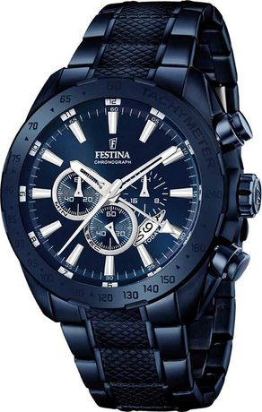 Годинник Festina Chronograph 10ATM з нержавіючої сталі (F16887/1)