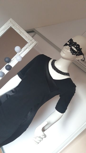 Sukienka MOHITO 36 Czarna elegancka