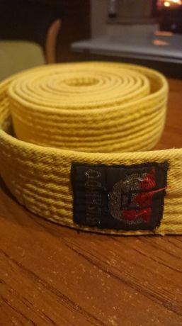 pas karate zółty