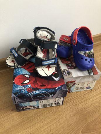 Sandały Spiderman, Crocs Avengers