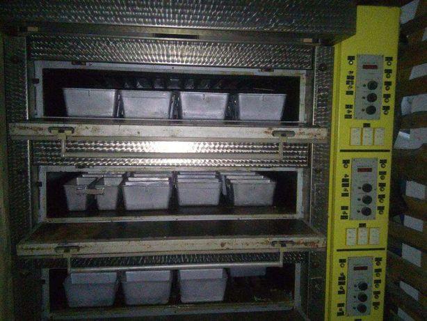 Печь этажерочная с электрообогревом. Марка А2-ХНП/10