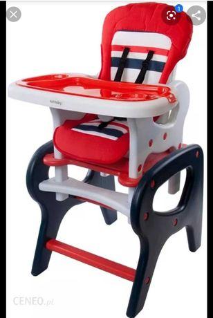 Krzeselko +stolik do karmienia 2 w 1 sun baby