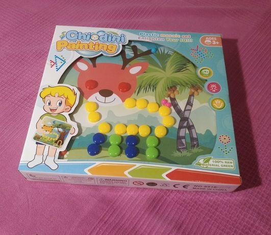 Мозайка (4 картинки) - детский набор для творчества