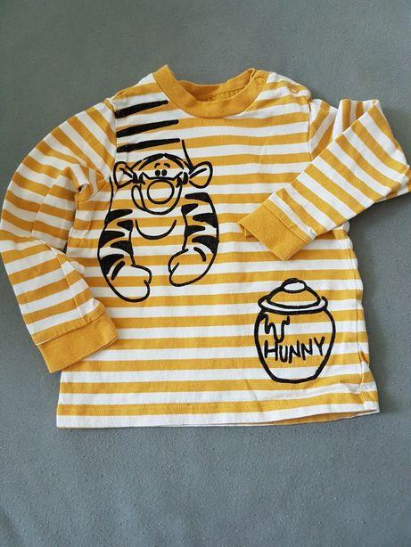 bluzeczka z długim rękawem f&f rozmiar 9-12 miesięcy 68