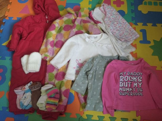 Пакет одежды девочке с 4 месяцев