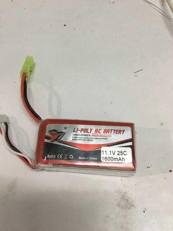 Батарейка до квпдрокоптерів та RC моделей 11.1V 1600mA