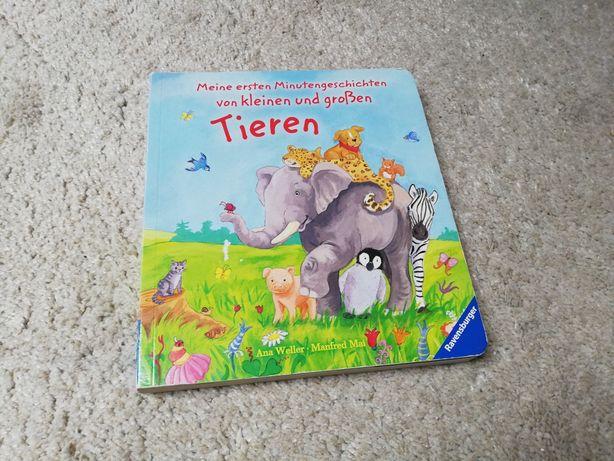 Meine ersten Minutengeschichten von kleinen und großen Tieren Książka