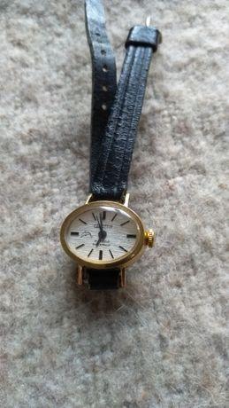 CORNAVIN zegarek damski grubo pozłacany lata 60-70