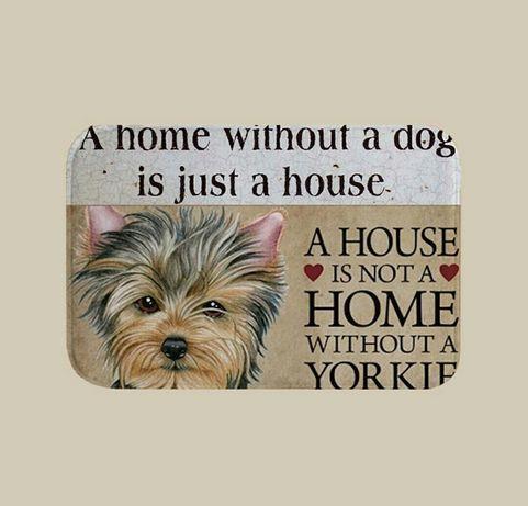 Коврик для дома / прихожей /ванной йоркширский терьер / собака йорк