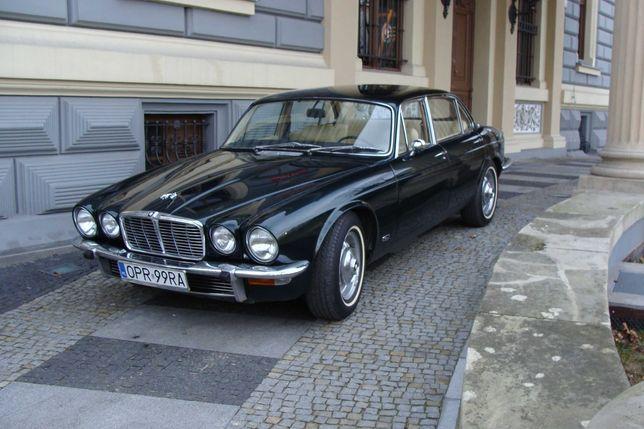 Jaguar XJ do ślubu, na imprezę