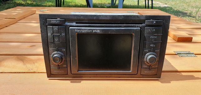 Radio navigation plus audi a4 b6,b7 2din
